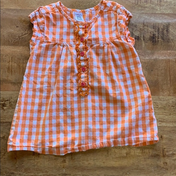 Other - Carter's Checkered 2T Tunic